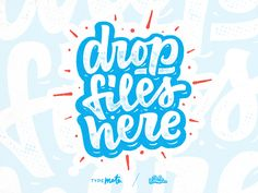 Drop files here! by Vova Egoshin  #Design Popular #Dribbble #shots