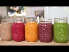 5 MORE Incredible Smoothie Recipes - YouTube