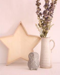 Bandeja estrella madera - Deco & Living