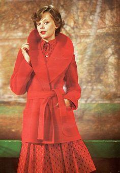 1974 autumn fashion, via Flickr.