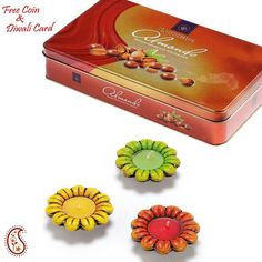 Priceless Almond Chocolate Gift with Terracota Diyas - Online Shopping for Diwali Sweet Hampers by Apno Rajasthan