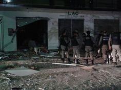 Quadrilha cerca destacamento da Polícia Militar e explode banco na Paraíba | Umbuzeiro Online