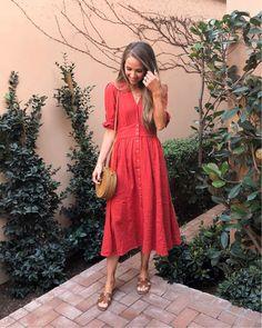 red midi dress | merricksart.com