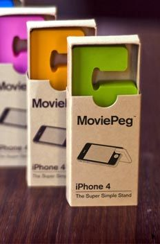 Movie Peg for your iPhone #accessory