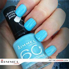 ¡Deja tus uñas listas este lunes en solo 60 segundos! ¿Qué te parece un tono brillante como Too Cool To Tango para esta semana?