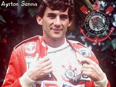 O eterno corinthiano Ayrton Senna