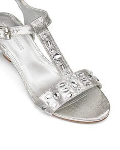 479693769ac0db Heavenly Soles Jewel Sandals EEE Fit Jeweled Sandals