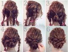 Prom Hair Hacks, Tips, Tricks; Curly hairstyles; Updos How to; Ponytails, buns, braids, etc. tutorials; Formal hair styles; Pictures, photos