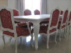 Blog Decoração de Interiores: Loja Moveis Provençal SP Dining Bench, Dining Chairs, Design, Furniture, Home Decor, Luxury Decor, Great Ideas, Mesas, Dinner Chairs