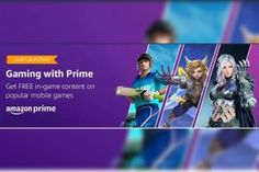 Amazon Launches Gaming with Prime with Free in-Game Content for Amazon Prime Members Desert Words, Amazon Prime Membership, World Cricket, Game Presents, Best Mobile, Mobile Legends, Seven Deadly Sins, Tech News, Free Games