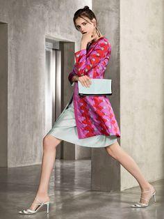 #multicoloredblazer #multicoloredjacket #multicoloredcoat #fuchsiacoat #fuchsiaandredcoat #armani