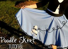 "Miss Lovie: Let's Go to ""The Hop"" {Poodle Skirt Tutorial}"