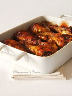 Ritroviamoci in Cucina: Spicy Chicken Drumsticks Baked in Beer