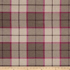 Pennington I Plaid Mirage Dahlia Fabric by the yard upholstery drapery pillows bedding wide Fabric Strips, Fabric Panels, Craft Bags, Diy Bags, Sack Bag, Sewing Projects, Sewing Tutorials, Sewing Ideas, Tote Pattern