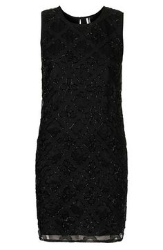 embellished shift dress / topshop @Nordstrom