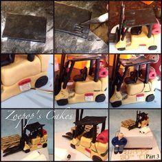 Forklift Cake Topper Tutorial PART N°3