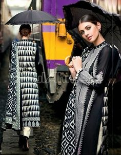 Gul-Ahmad. Cannot love this more! Always wanted a gorgeous black and white contrast. This is it!