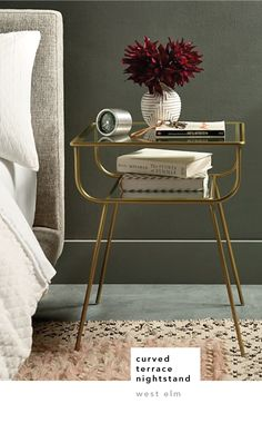 You know what they say – side table in the living room, nightstand in the bedroom! (Oh wait, I'm the...