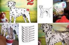 Pin the tail on the dalmation PDF file