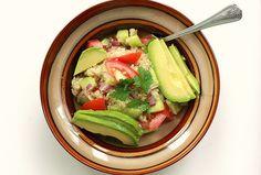 Quinoa e avocado