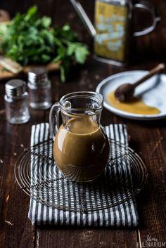 Honig-Senf-Dressing mit Balsamico - Kleines Kulinarium