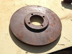 VTG Original 1962 Sunbeam Brake Rotor #SUNBEAM