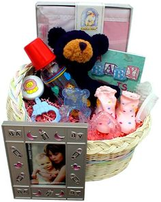 Baby Gift Basket – Neutral « Holiday Adds