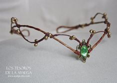 Hey, I found this really awesome Etsy listing at https://www.etsy.com/listing/222101744/woodland-elf-tiara-elven-headpiece-fairy