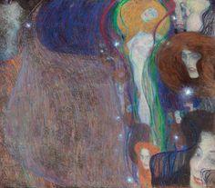 ustav Klimt Feu follet 1903