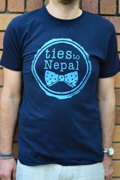 ~ beautifully soft, ethically made and 100% organic cotton screenprinted t-shirts ~ they don't just look and feel awesome…. they're for a good cause  ~ all money raised through the sale of ties to Nepal products goes towards supporting PhD research into women's health in Nepal ~  www.etsy.com/au/your/shops/tiestoNepal www.facebook.com/TiesToNepalFundraising www.instagram.com/tiestonepal www.twitter.com/tiestoNepal