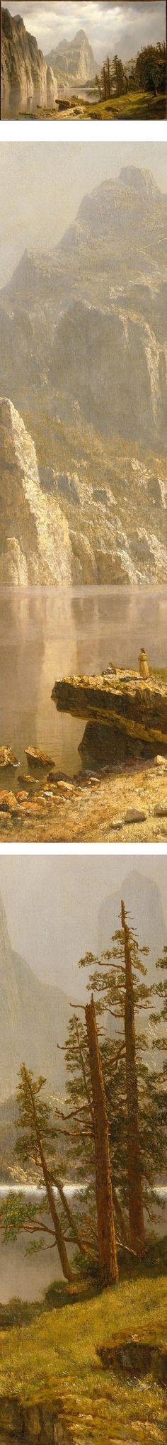 Merced River, Yosemite Valley, Albert Bierstadt