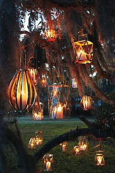 Banded Lantern