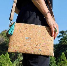 Cork bag sac en liège Pochette liège naturel vegan éco bohème