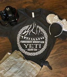 Yeti Research Team Tee Shirt tshirtcustom tshirtclothing Disney Shirts, Disney Outfits, Disney Clothes, Disney Fashion, Disney Tops, Cute Disney, Disney Style, Disney Diy, Disney Crafts