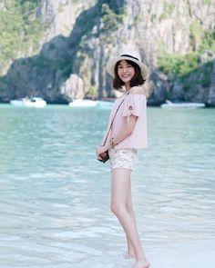 เอาน้ำใสใส มาฝากก๊าปปป ทะเลไทยสวยจริงจริง Princess Hours Thailand, Korean Celebrities, Celebs, Thailand Fashion, Holy Chic, Oh My Love, Ulzzang Girl, Asian Girl, Short Hair Styles