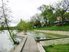 аналог локального решения вдоль озера нв участке с деревьями