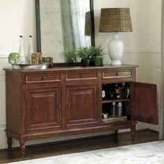 Dehaviland 3-Drawer Console - 19th Century European Console Table - Solid Pine