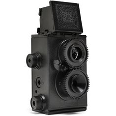 A kit to build your own 35mm camera, twin lens no less. The analogue photography major in me screams OWN THIS NOW! And really, who am I to argue?  Recesky Twin Lens Reflex Camera Kit. $29.99