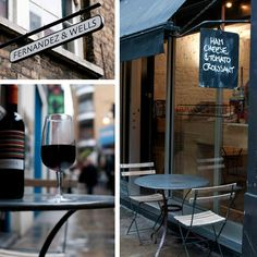Great for coffee, hidden away from the hustle and bustle > Fernandez & Wells St Anne's Court