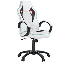 Buy X-Rocker Height Adjustable Office Gaming Chair - White at Argos.co.uk - Your Online Shop for Office chairs, Office furniture, Home and garden.
