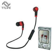TTLIFE Bluetooth Headset Wireless Earphone Headphone Bluetooth Earpiece Sport Running Stereo Earbuds With Mic for xiaomi Phones