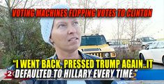 BREAKING VIDEO : Pennsylvania Voting Machines Flipping Votes From Trump to Clinton