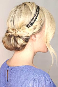 1000 ideas about frisuren mit haarband on pinterest frisuren elegante frisuren and plaits. Black Bedroom Furniture Sets. Home Design Ideas