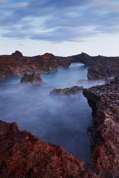 ✯ Rocks at Hulopoe Bay - Lanai, Hawaii
