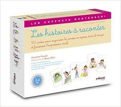 Amazon.fr - Les histoires à raconter : Avec 90 cartes et un livret - Charlotte Poussin, Marie Ollier, André Roberfroid - Livres