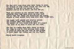 Typewriter Series #661byTyler Knott Gregson