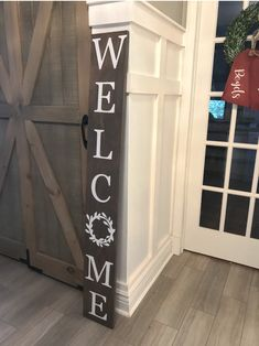 Welcome Sign//outdoor welcome sign//front door welcome sign//front door sign//entryway decor//porch decor//porch sigh//porch welcome sign - Decoration For Home Outdoor Welcome Sign, Welcome Signs Front Door, Porch Welcome Sign, Wooden Welcome Signs, Front Porch Signs, Outdoor Signs, Front Door Decor, Wooden Signs, Welcome Boards