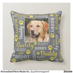 Dog Throw, Throw Pillows, Word Cloud Art, Pet Rodents, Pet Dogs, Pets, Cat Names, Color Of The Year, Pantone Color