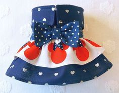Female Dog Diaper Skirt Perfect for your dog in Season and House Training Navy and Silver Hearts with Minnie Mouse Ruffle by piddleronthewoof on Etsy Female Dog Diapers, Minnie Mouse, Baby Shoes, Hearts, Training, Seasons, Navy, Sewing, Trending Outfits