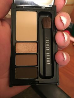 Bobbi Brown classic eye shadow mini palette. Swatched. Authentic be